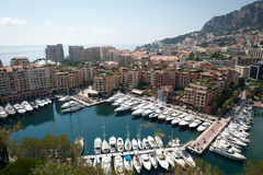 Monaco skyline Royalty Free Stock Images