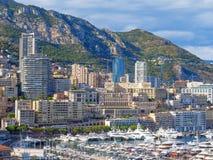 Monaco-Skyline lizenzfreie stockfotografie