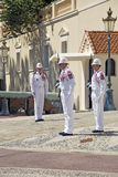Monaco Soldiers standing Stock Photography