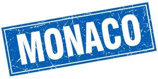 Monaco stamp Stock Image