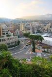 Monaco-Stromkreis Lizenzfreie Stockfotos