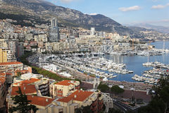 Monaco sunny afternoon Stock Photography