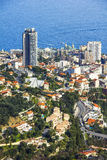 Monaco from the top Royalty Free Stock Image