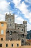 Monaco - Turret of Royal Palace Stock Image
