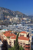 Monaco view. Royalty Free Stock Photos