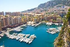 Monaco view Royalty Free Stock Photo
