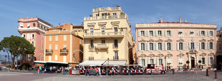 Monaco - view of opposite the Palace Stock Photography