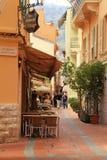 Monaco-ville street Royalty Free Stock Photos