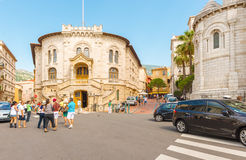 Monaco-ville street Stock Images