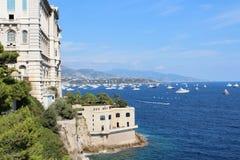 Monaco Wybrzeże Obrazy Royalty Free