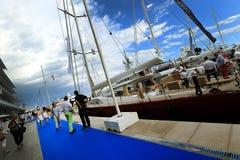 Monaco-Yacht-Show lizenzfreie stockfotografie