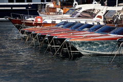 Monaco Yacht Show Royalty Free Stock Images