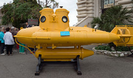 Monaco - Yellow Submarine Stock Photography