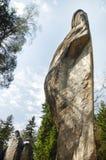 Monadnock rocks in Skalne Mesto Adrspach Czech Rep Stock Images
