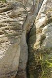 Monadnock rocks in Skalne Mesto Adrspach Czech Rep Royalty Free Stock Photos