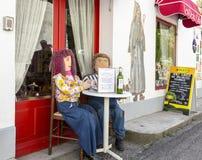 Monaques夫妇-环法自行车赛2014年 图库摄影