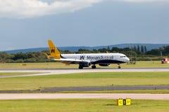 Monarca Airbus A321 Fotografia de Stock Royalty Free