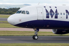 Monarca Airbus A320 Fotografia de Stock Royalty Free