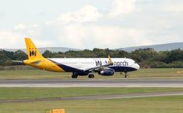 Monarca Airbus A321 Imagem de Stock
