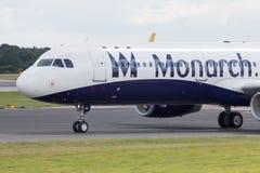 Monarca Airbus A320 Imagem de Stock