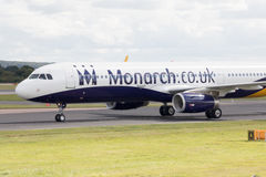 Monarch Airbus A320 Stock Images