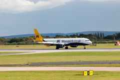 Monarch Airbus A321 Royalty Free Stock Photography