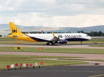 Monarch Airbus A321 Royalty Free Stock Photos