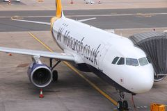 Monarch Airlines Royalty Free Stock Photo