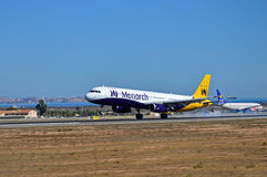 Monarch Airlines Stock Photos