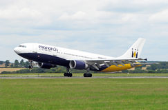 Monarch airlines plane Stock Image