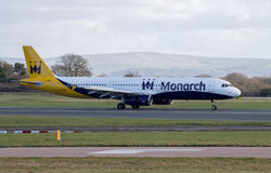 Monarch Airways Airbus A321 Royalty Free Stock Image
