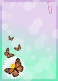 Monarch butterflies Stock Image