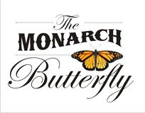 The Monarch Butterfly Poster Royalty Free Stock Photography