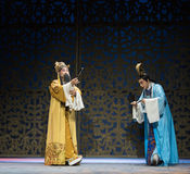 "Monarch -The emperor's wedding-Jiangxi opera ""Red pearl"" Royalty Free Stock Photo"