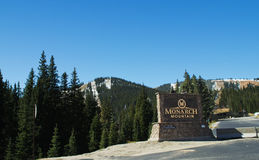 Monarch Mountain Stock Image
