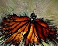 Monarch v Windscherm Stock Afbeeldingen