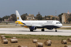 a321 monarcha Airbus Obrazy Stock