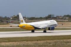 a321 monarcha Airbus Fotografia Stock