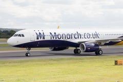 a320 monarcha Airbus Obrazy Stock