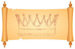 Monarchical crown Royalty Free Stock Images