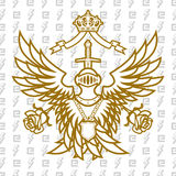 Monarchy Forever. Coat Of Arms Monarchy Forever Stock Images