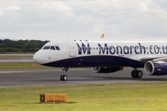 monark för flygbuss a320 royaltyfri fotografi
