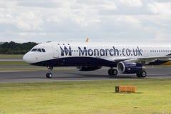 monark för flygbuss a320 royaltyfria bilder