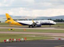 Monarque Airbus A321 photos libres de droits