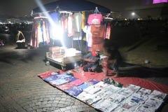 MONAS的小贸易商 免版税库存照片