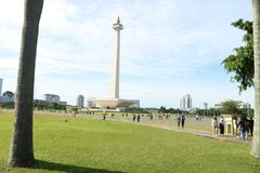 Monas à Jakarta Indonésie images stock