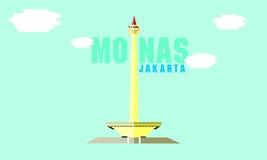 Monas, Jakarta Royalty Free Stock Images