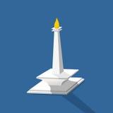 Monas-Monument nasional Lizenzfreies Stockbild