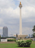Monas national monument in Jakarta. Island Java, Indonesia royalty free stock photos