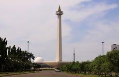 Monas, quadrado de Merdeka, Jakarta, Indonésia Imagem de Stock Royalty Free
